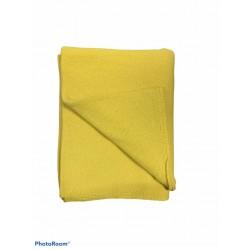 stola puro cachemire giallo